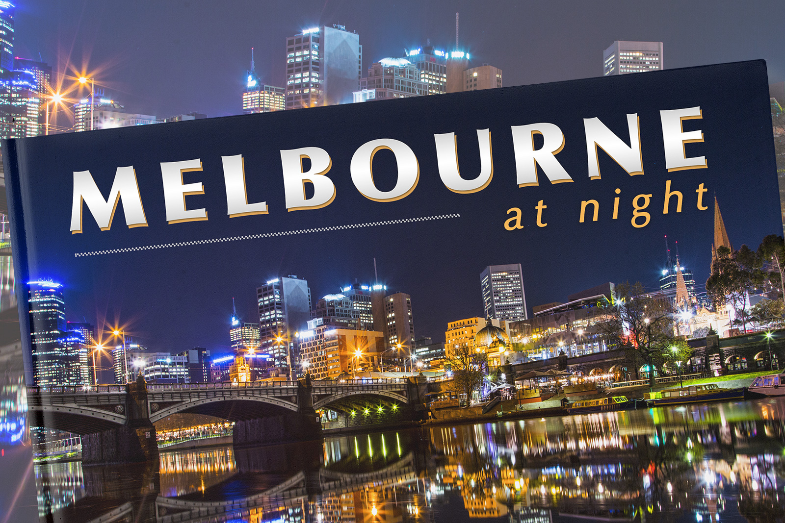 Melbourn at Night Book